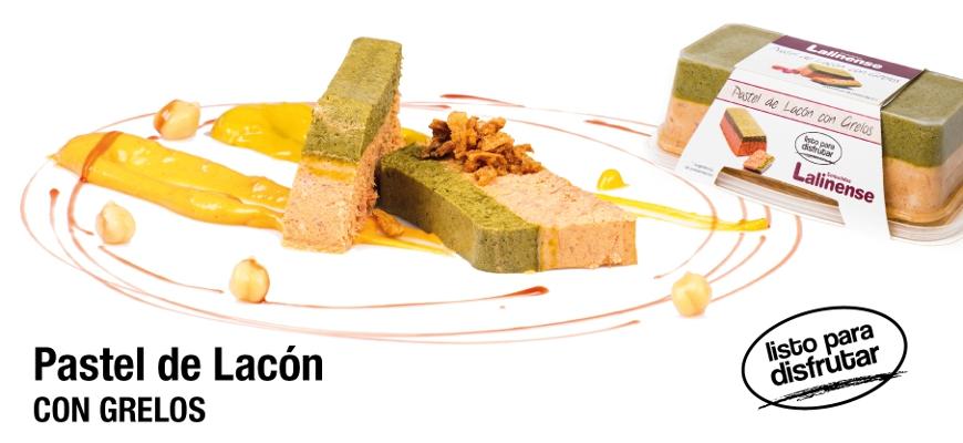 Pastel de Lacón con grelos